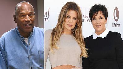 O.J. Simpson, Khloé  Kardashian and Kris Jenner.