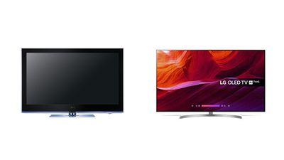 LG Plasma vs LG OLED.