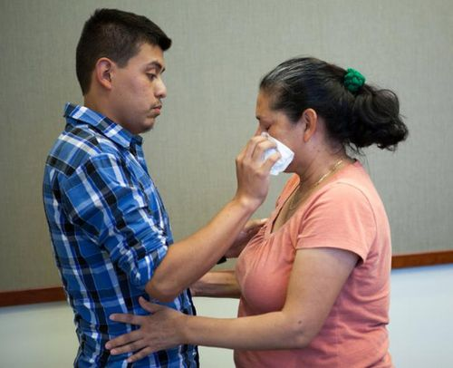 US mother reunited with son 21 years after his disappearance