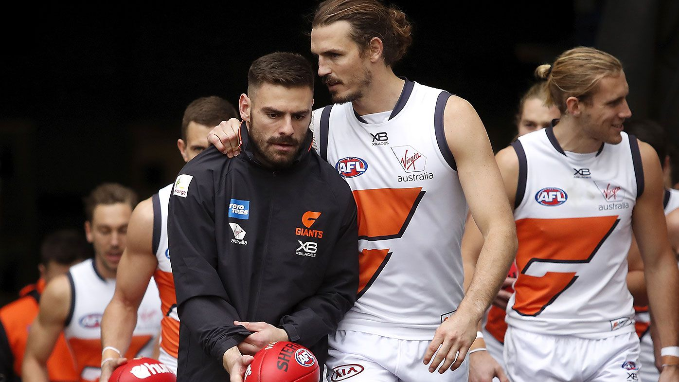 GWS Giants relieved as Stephen Coniglio avoids ACL tear, finals hopes still alive