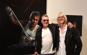 Jimmy Barnes portrait wins Packing Room Prize