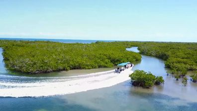 The Garden of the Queens is an archipelago in the southern part of Cuba.