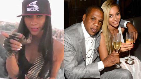 Liv, Jay-Z, Beyonce