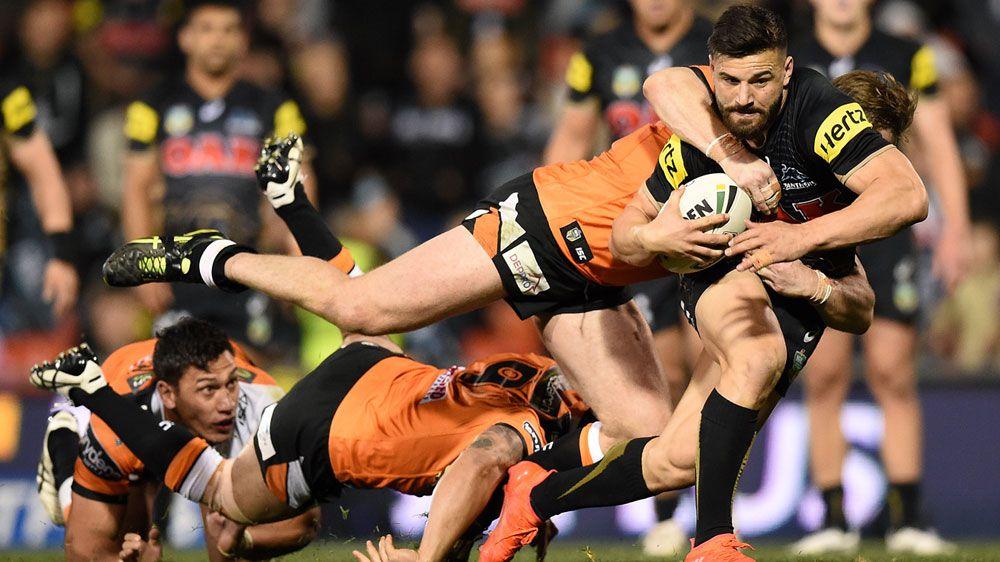 Penrith smash Tigers, edge to NRL finals