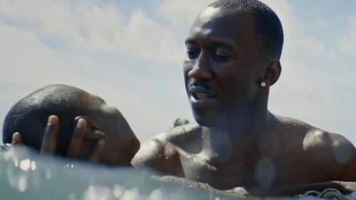 Moonlight is considered to be the only real threat to La La Land's best picture chances. (a24)