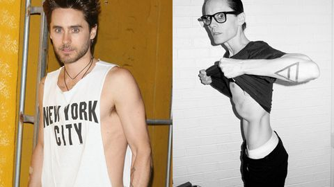 Wasting away: Jared Leto reveals scary-skinny body after fasting for a month
