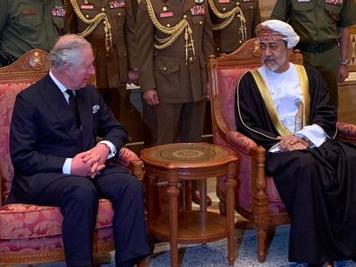 Prince Charles returns to UK after Oman visit for crisis talks with Queen Prince Harry Prince William