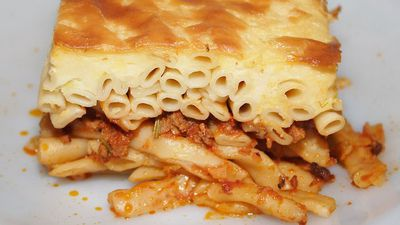 "<a href=""http://kitchen.nine.com.au/2016/05/16/17/39/pastitsio-greek-lasagna"" target=""_top"">Pastitsio (Greek lasagne)<br> </a>"
