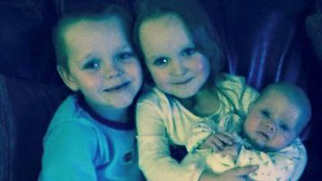 Brandon, Lacie and Lia Pearson, who died following a blaze at their home in Greater Manchester. David Worrall, 25, and Zak Bolland, 23, have been found guilty of murder.