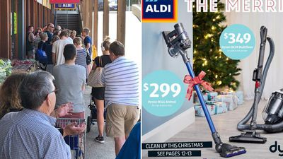 Aldi vacuum cleaner sparks 'disgusting' bargain-hunter frenzy