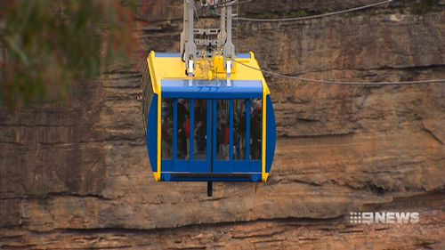 The cable cars will have a capacity of 30 people. (9NEWS)