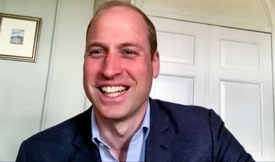 Prince William Scottish Charities video calls (EMBARGO 7:30am 21/5)
