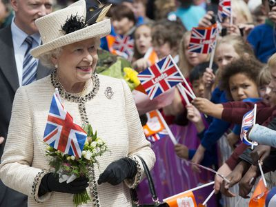 Queen Elizabeth celebrates her Diamond Jubilee, 2012