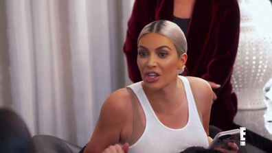 Kim Kardashian yells at Kourtney Kardashian