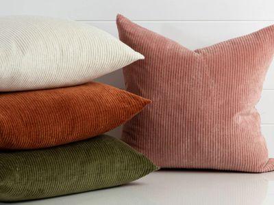 Farrow Corduroy Cushion — Pillow Talk