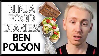 Ninja Food Diaries: Ben Polson reveals what he eats in a day