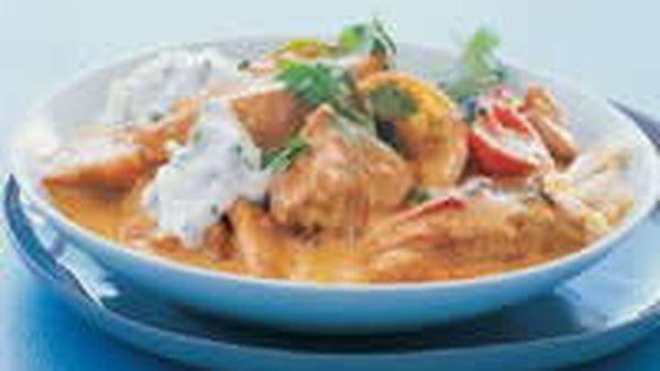 Chicken Tikka with Raita