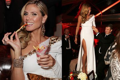 Eat the chip, Heidi. We dare you.<br/><br/>Image: Getty
