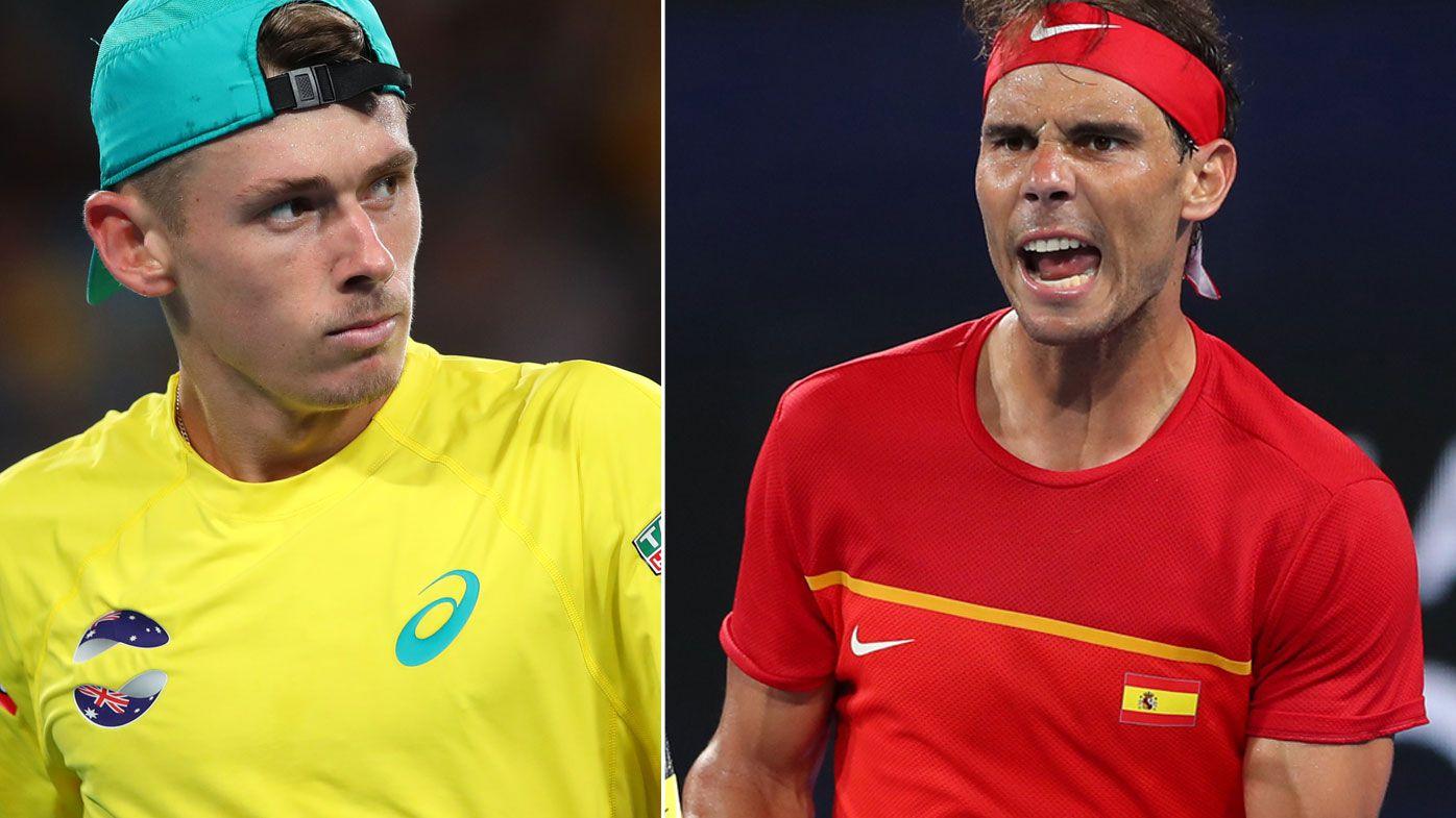 'Emotional' Rafael Nadal denies Alex de Minaur upset as Australia crash out of ATP Cup
