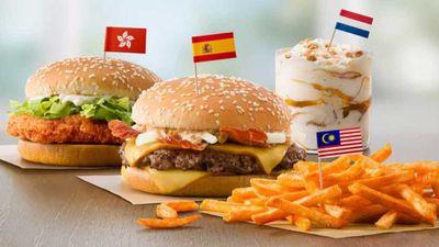 McDonald's testing international menu in US