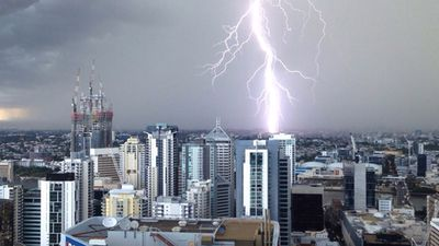 <p>Residents across southeast Queensland have photographed hail, lightning and menacing skies as severe storms move across the region.<br>Residents of Esk, in the Somerset region of southeast Queensland, filmed hail carpeting the main street and neighbourhood.<br><strong>Click through to see more pictures of southeast Queensland's wild weather.</strong></p><p>(Leah Green, Brisbane CBD)</p>