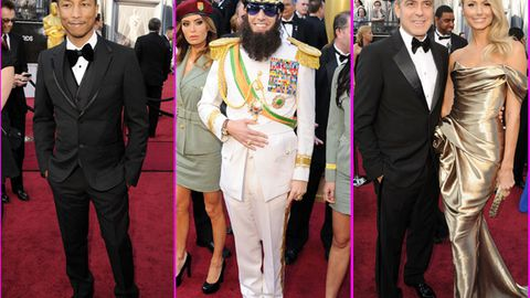 In pics: Men on the 2012 Oscars red carpet!
