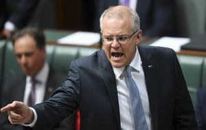 Scott Morrison targeted for second day in Question Time over Liberal Party spill