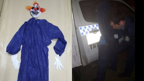 WA man charged after allegedly chasing teenage girls while wearing clown costume