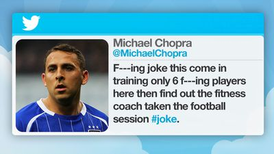 Blackpool footballer Michael Chopra ill-advisedly criticised his club's training arrangements.