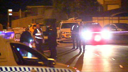 Investigators have turned their attention to two cars parked outside the scene. (9NEWS)