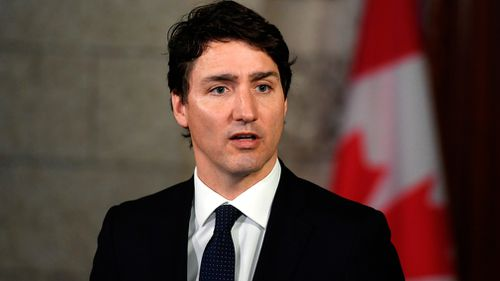 Justin Trudeau says Canada's threat level won't change. (AAP)