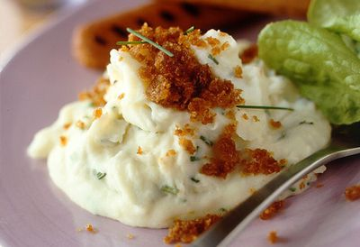 Gluten-free creamy potato 'n' chives