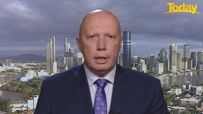 Peter Dutton has defended hotel qurantine system, calling the 'nebuliser issue' regrettable.
