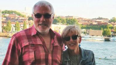 Susan Francis with her late husband Wayne.