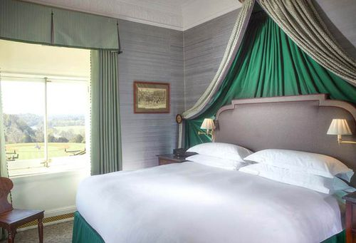 One of the suites at the Clivden Estate, aptly named The Prince Wales. (Supplied)