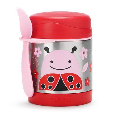 "<a href=""https://www.toysrus.com.au/skip-hop-insulated-food-jar-ladybug/"" target=""_blank"">Skip Hop Insulated Food Jar, $34.95.</a>"