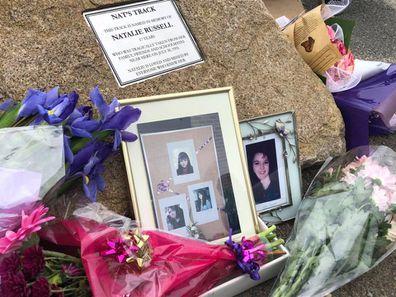 Natalie's memorial