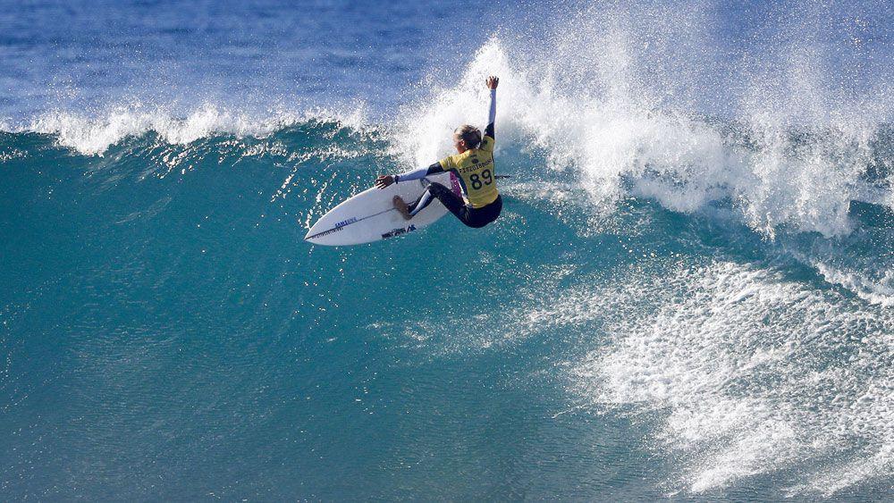 Australian surfer Sally Fitzgibbons.