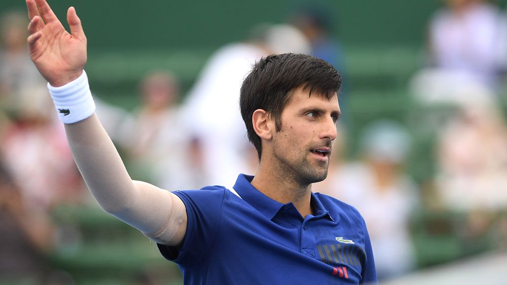 Novak Djokovic happy with return ahead of Australian Open