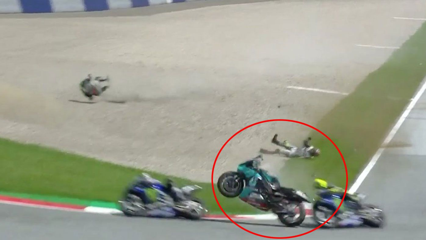 Warning that was missed 18 years before terrifying Rossi crash