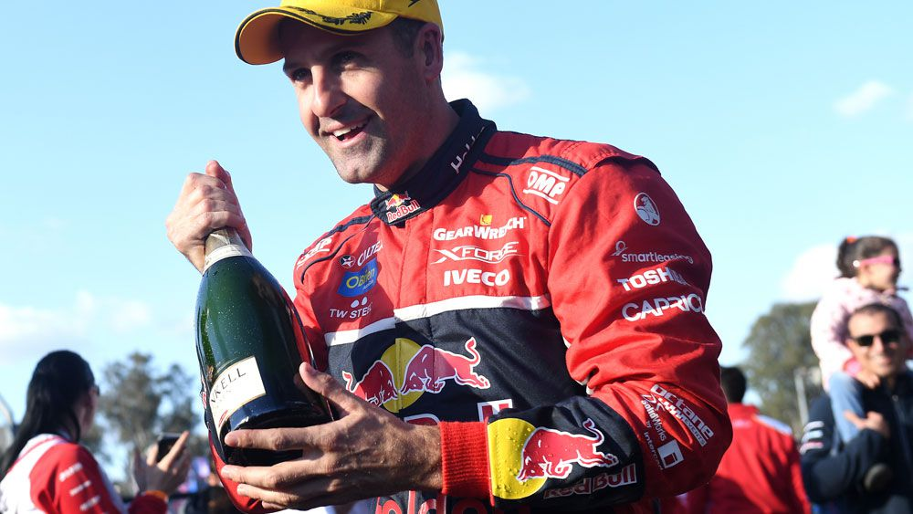 Jamie Whincup new all-time Supercars' best after win at Sydney Supersprint