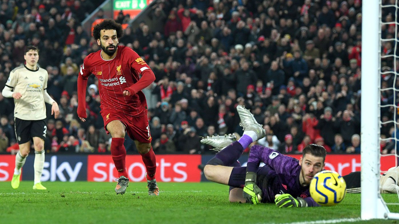 Liverpool beat Manchester United to go 16 points clear atop Premier League