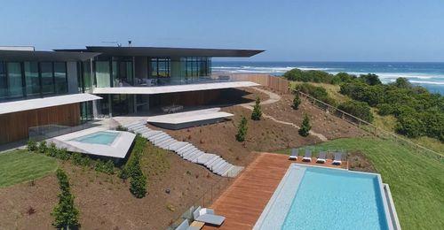 The new mega mansion on the Mornington Peninsula.