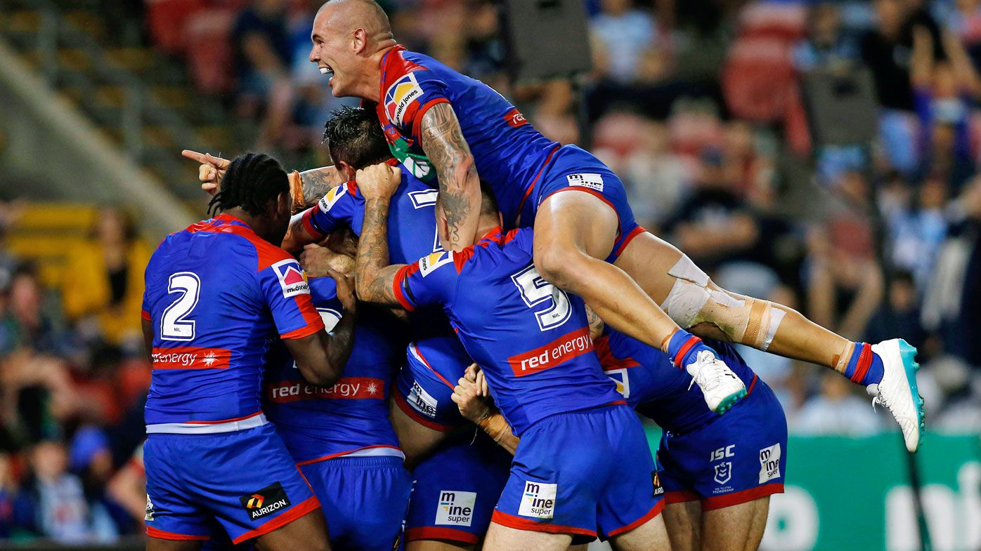 Newcastle Knights defeat Cronulla despite controversial Sharks penalty try
