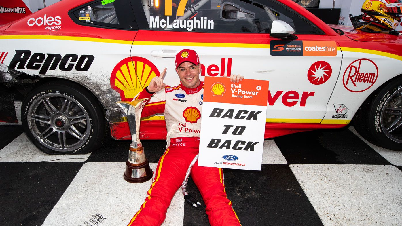 Supercars: Jamie Whincup wins Newcastle 500, Scott McLaughlin wraps up championship