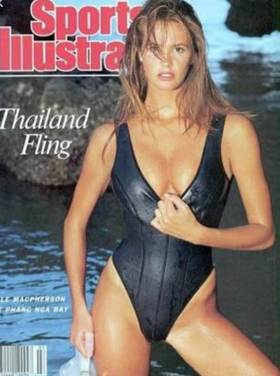<p>The original Body, Elle Macpherson, 53, found fame in swimsuits before making the transition to the international runways and founding her own lingerie label.</p> <p>Elle was featured on five covers of <em>Sports Illustrated</em>'s coveted swimsuit edition. </p>