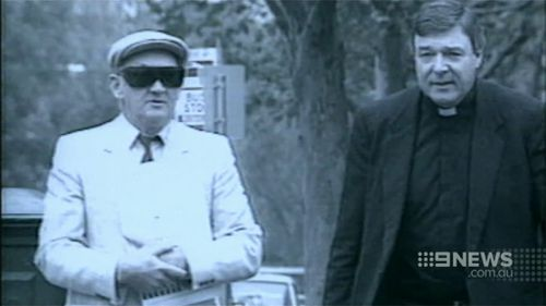 Cardinal Pell insisted Ridsdale's victim was not offered a bribe. (9NEWS)