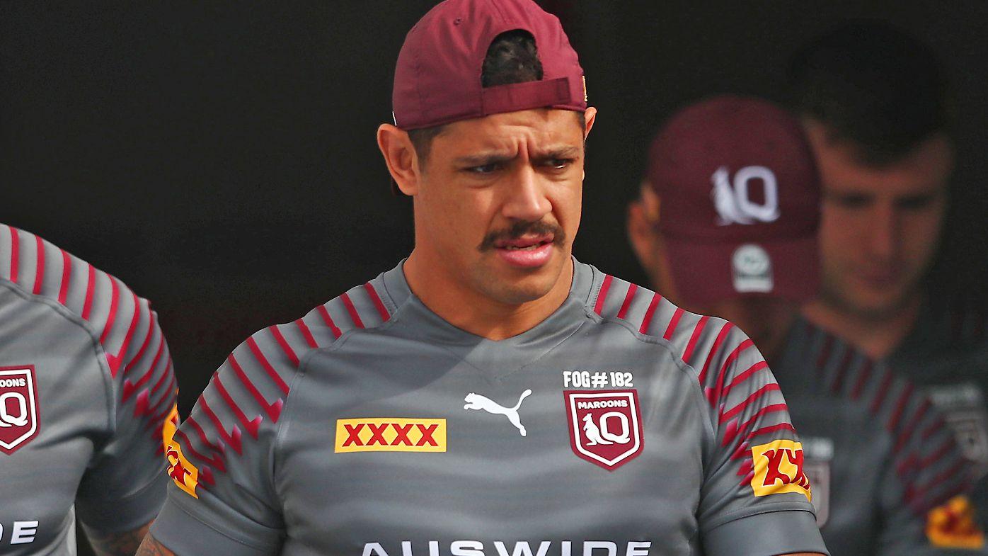 Dane Gagai of the Queensland Maroons