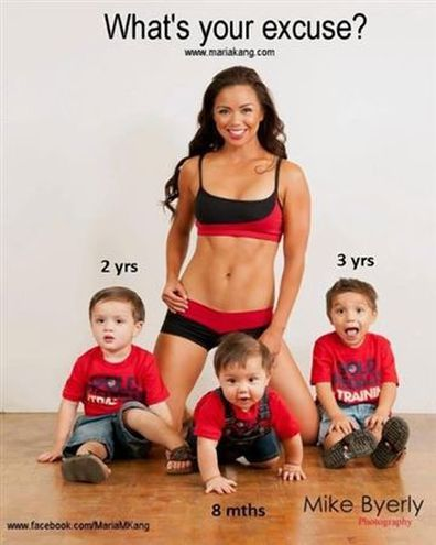 'Fit Mom' Maria Kang apologises for promoting unrealistic body image