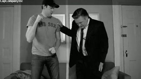 Watch: Alec Baldwin pees his pants